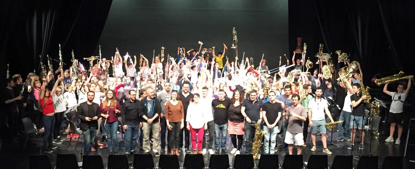 Revivez le Concert de fin de stage des orchestres Cadets et Juniors !