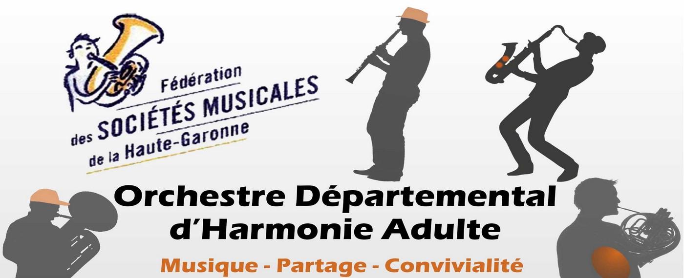 Nouvel Orchestre Départemental d'Harmonie Adulte !!