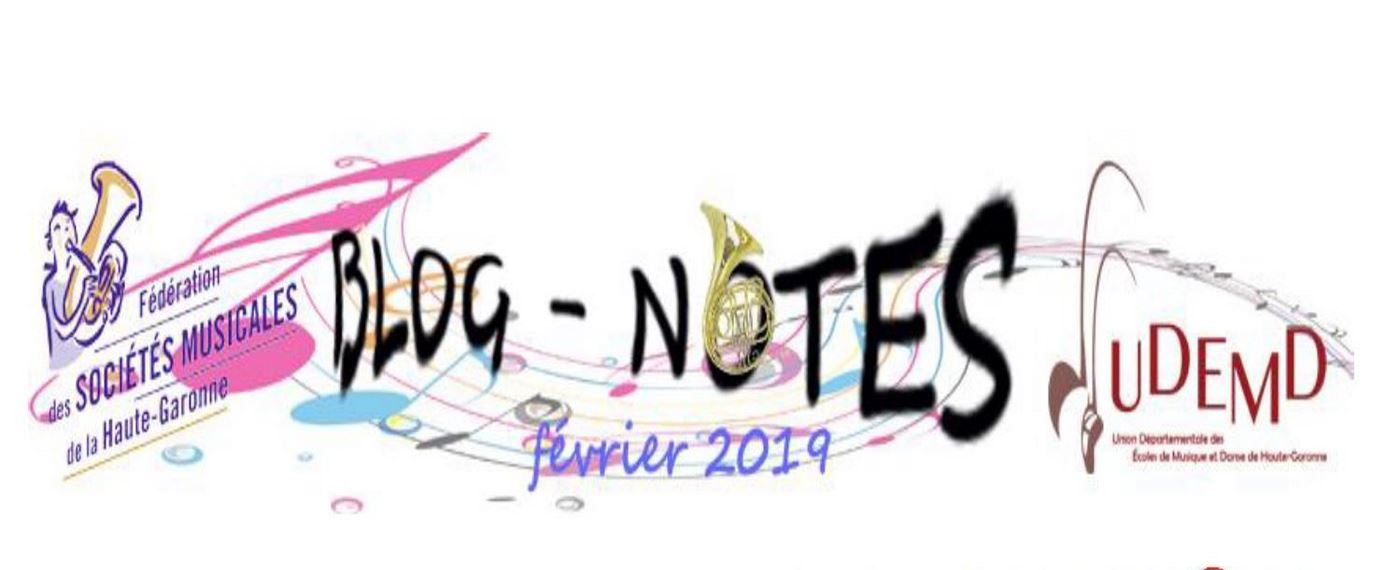 Blog Notes n°5 ! Février 2019