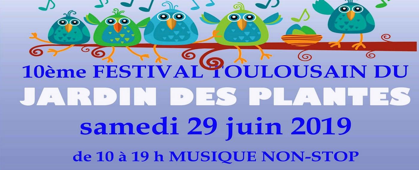 10ème Festival au Jardin des Plantes de Toulouse!!